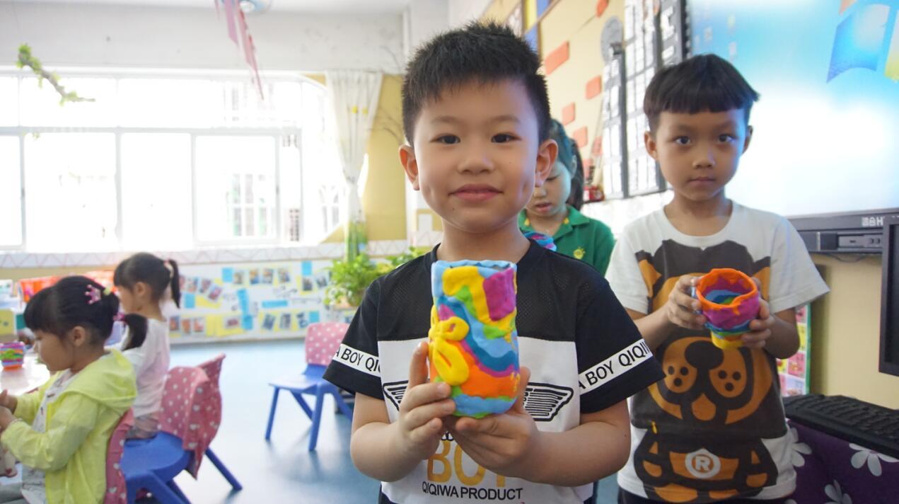 泥塑作品图片儿童